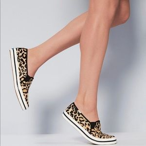 Keds X Kate Spade leopard-print Slip On sneakers 8